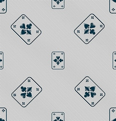 game cards icon sign Seamless pattern with vector image