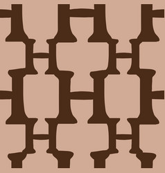 H from alfabet repeat pattern print background vector