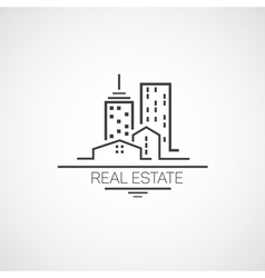Real estate vector