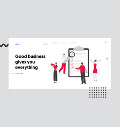 Scheduling planning and creative process website vector