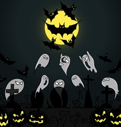 Set of for Halloween party vector