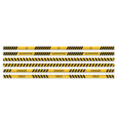 Set restriction tapes vector