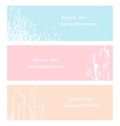 Turf and flower vector