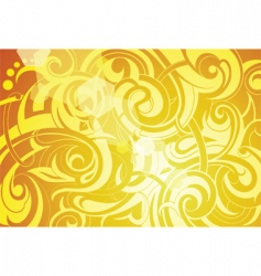 summer tattoo background vector image vector image