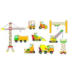 builders equipment vector image