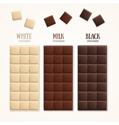 Chocolate Bar Blank vector