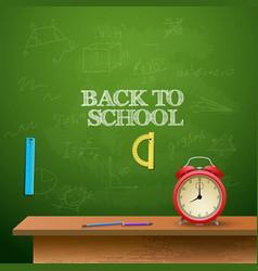 education school template vector image