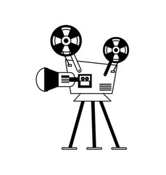 Film projector icon image vector