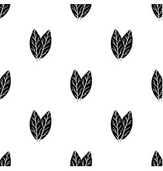 Laurus icon in black style isolated on white vector