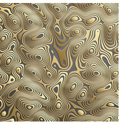 Luxury gold background wavy gold landscape vector