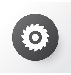 milling cutter icon symbol premium quality vector image