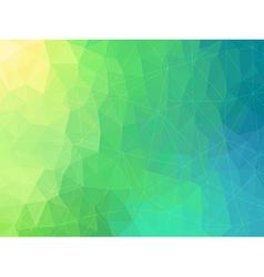 Retro background of geometric shapes vector image