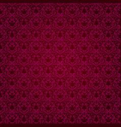 Seamless purple background in retro style vector