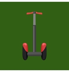 Set of self-balancing electric scooters isolated vector image