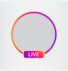social media icon avatar vector image