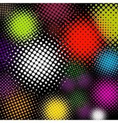 vector halftone multicolor background eps 8 vector image