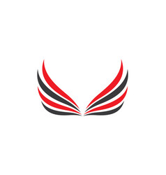 Wing icon design vector