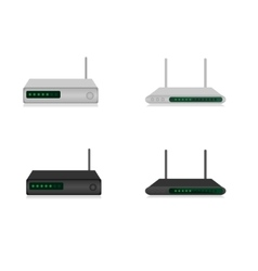 Routers vector image
