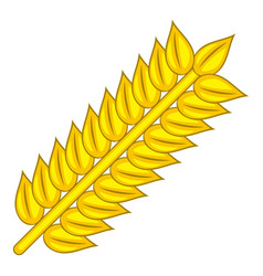 wheat icon cartoon style vector image