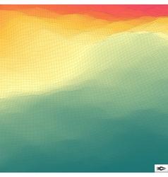 Abstract Hi-Tech Background Mosaic vector image vector image