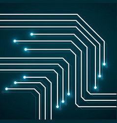 abstract technology background circuit board vector image