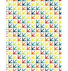 chicken footprint seamless pattern vector image
