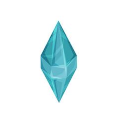 diamond accessory for a little princess or fairy vector image