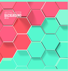 Light mosaic background vector