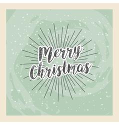 Merry christmas holiday december burst vector
