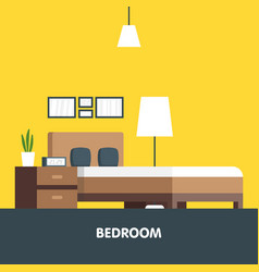 modern badroom interior design icon vector image