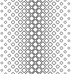 Monochrome abstract rounded square pattern vector