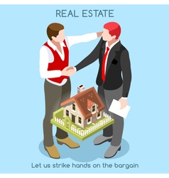 Real estate 01 people isometric vector