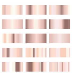 rose gold gradient vector image