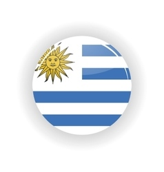 Uruguay icon circle vector