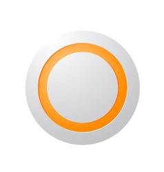 Big technology button concept vector