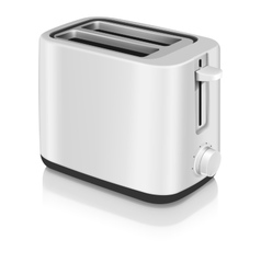 Photorealistic electric toaster vector image vector image