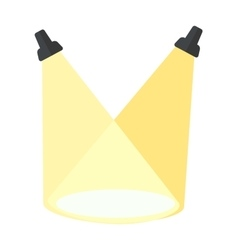 scene light vector image vector image