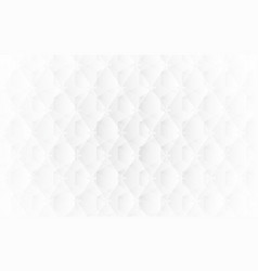 abstract white cubic background vector image