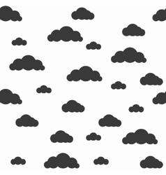 Baby seamless pattern light fun sky print vector