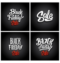 Black Friday Sale backgrounds vector image
