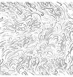 doodle minimalistic seamless pattern vector image