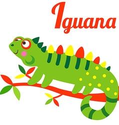 IguanaL vector image