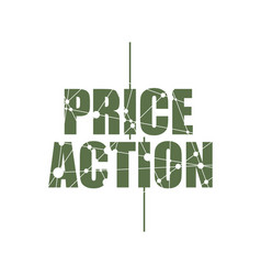 Price action text vector