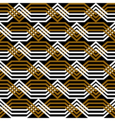 Seamless interlacing pattern vector