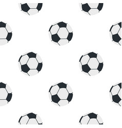 Soccer or football ball pattern seamless vector