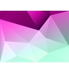 Abstract colorful geometric background Template vector image
