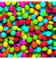 Background with candy vector image vector image
