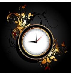 web icon clocks vector image