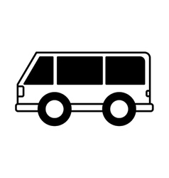 Car vehicle travel icon vector