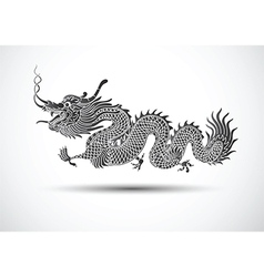 Chinese dragon2 vector